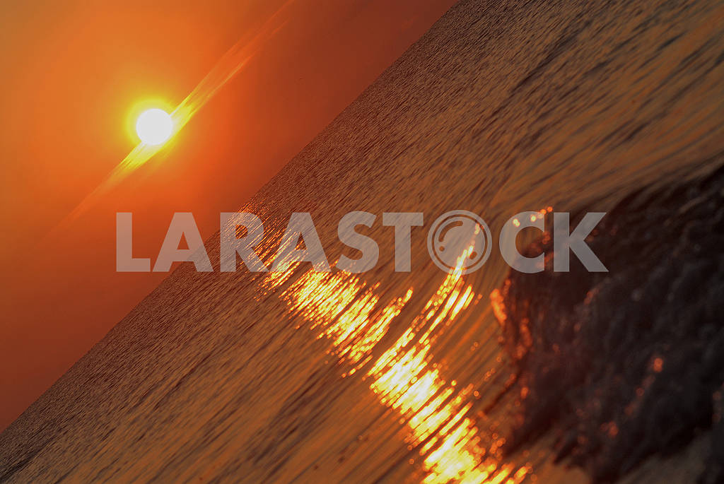 Sunset over the sea — Image 66060