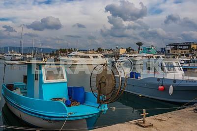 Лодки в гавани