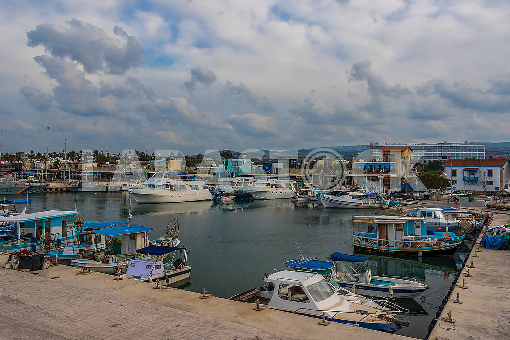 Boats on the dock — Image 66106