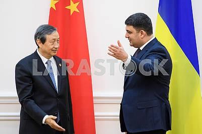 Ma Kai and Vladimir Groisman