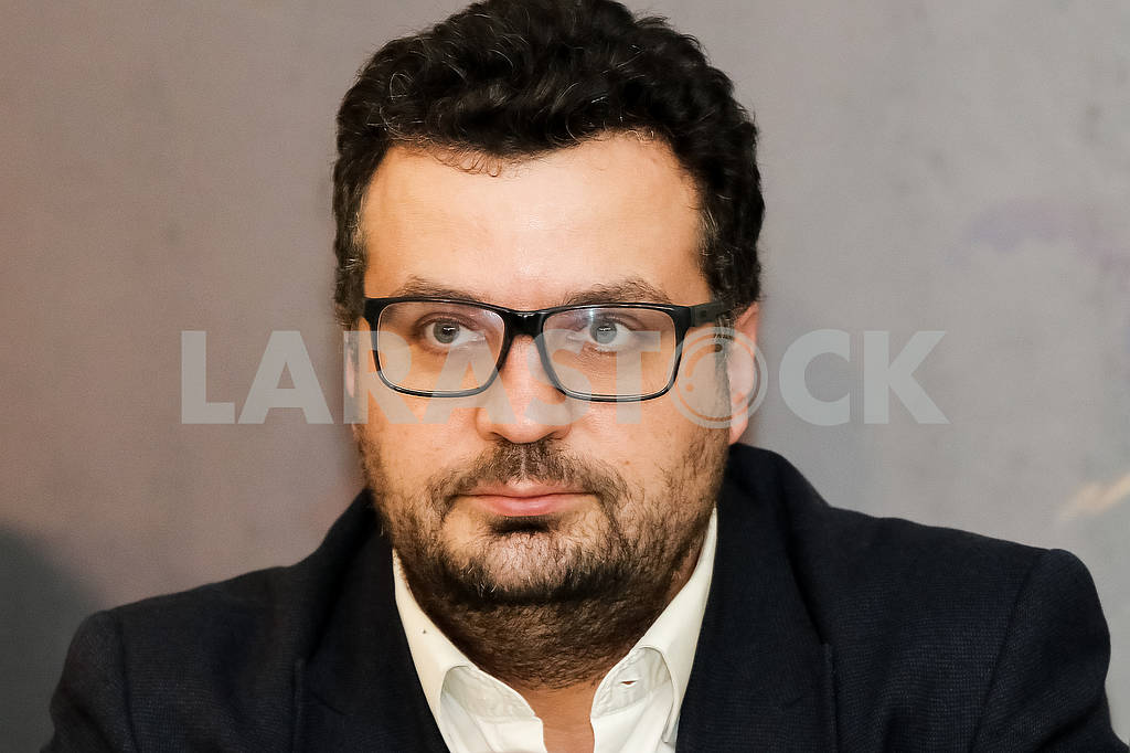 "Chairman of the State Agency of Ukraine for Filmmaking Filipp Ilenko during the pre-premiere screening of the film ""Cyborgs"" — Image 66125"