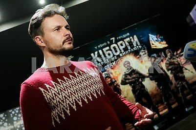 Актер Роман Ясиновский
