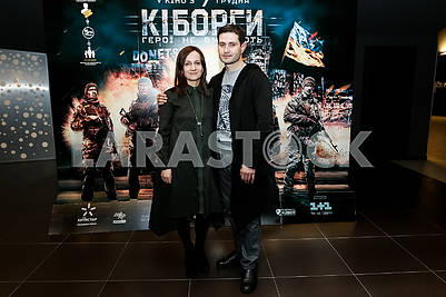 "The playwright Natalia Vorozhbit and the Director of the film ""Cyborgs"", the Ukrainian and Crimean Tatar film actor, theater and film director, scriptwriter Ahtem Seitablayev"