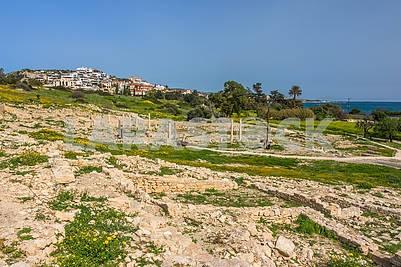 Развалины античного города Аматус