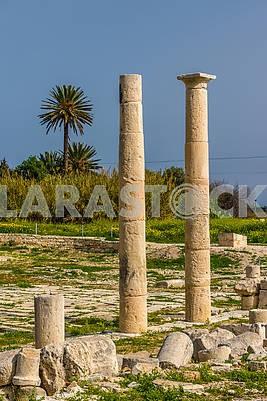 Развалины  города Аматус