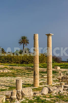 The ruins of the ancient city