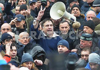 Liberation of Mikheil Saakashvili