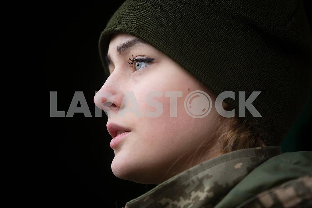 Girl serviceman — Image 66216