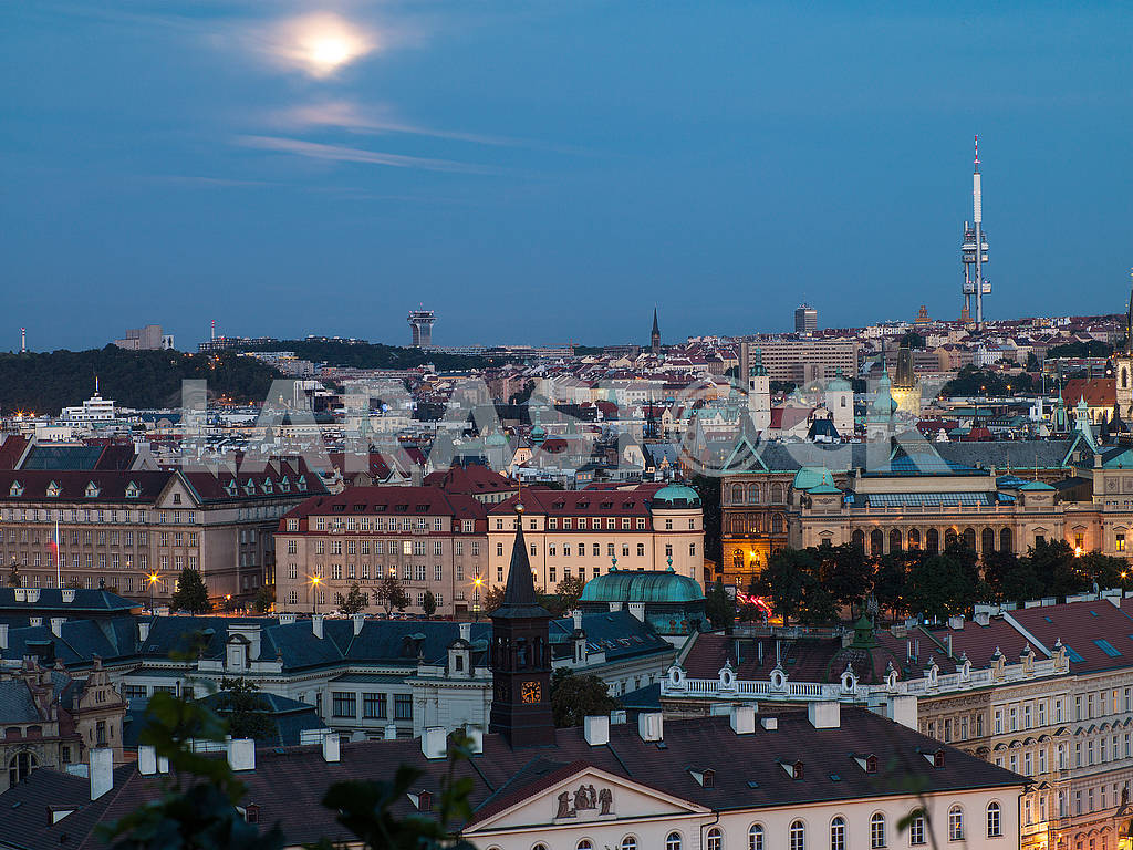 Landscape evening Prague — Image 66252