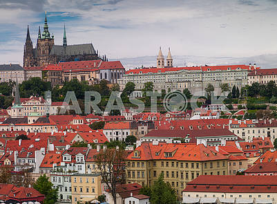 Beautiful view in Prague.