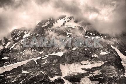Вид из вершин Монте-Роза