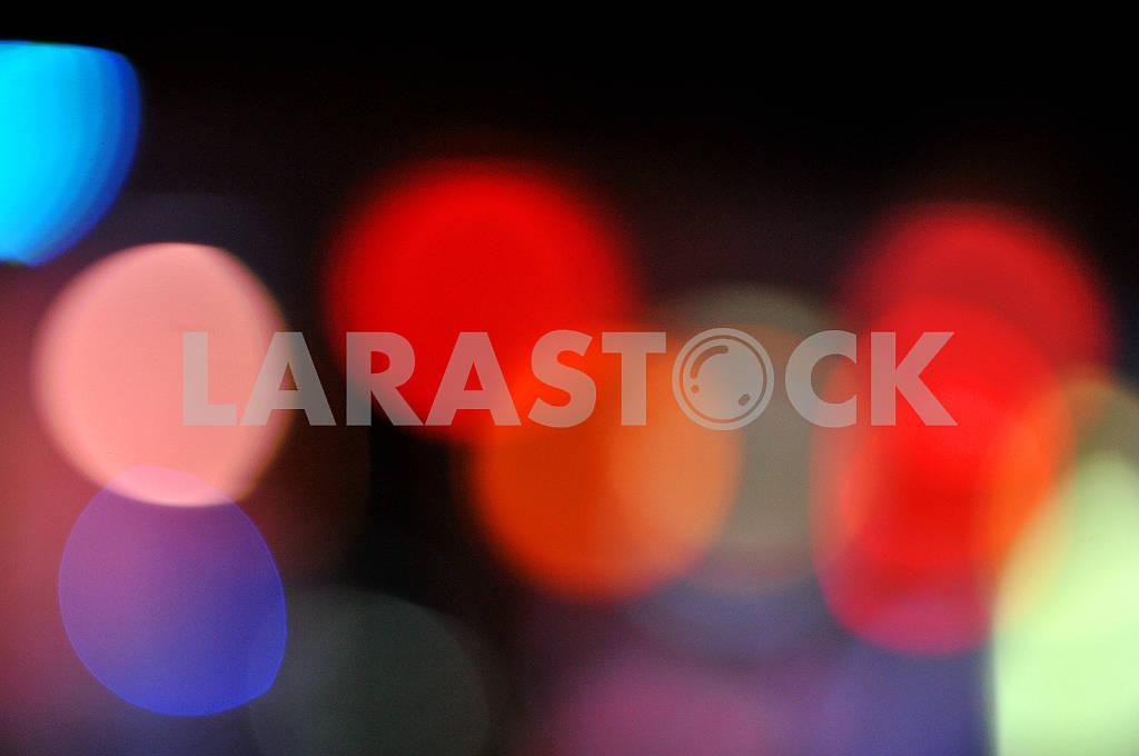 Абстрактные световые круги. — Изображение 66340
