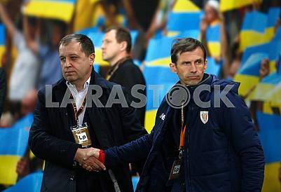 Yuri Vernidub and Jose-Angel Siganda