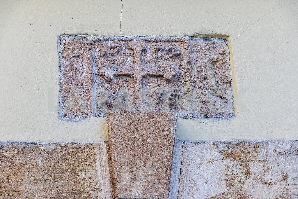 Bas-relief on the wall of an old house — Image 66445