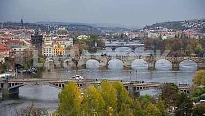 types of autumn Prague