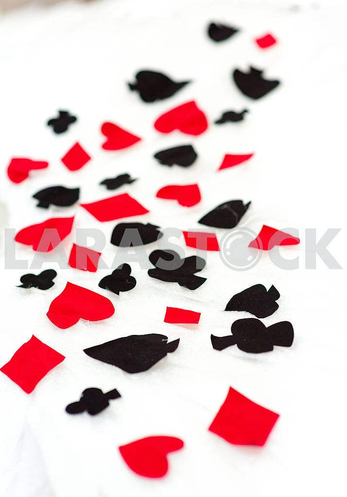 Signs of playing cards — Image 66570