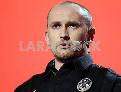Police officer Yevgeny Zhukov