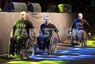 """Participants of the competition """"Heroes' Games"""""""
