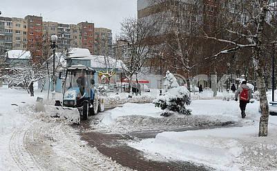 Snow in Kiev