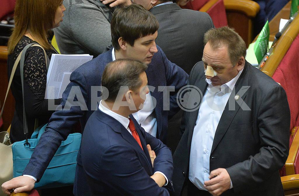 Deputies Oleg Lyashko and Vasily Omelchenko — Image 66856