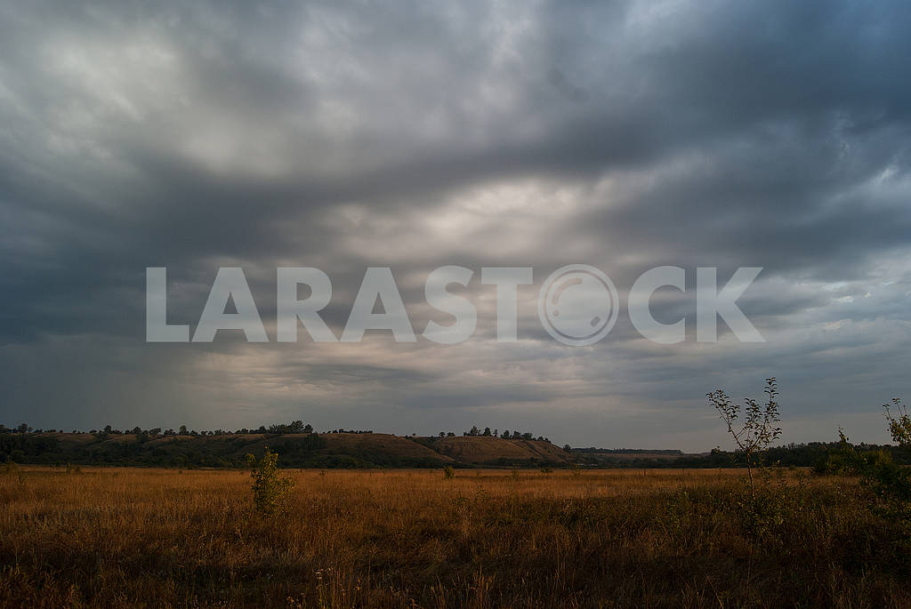 Cloudy valley landscape. Wildlife Photography. — Image 66873
