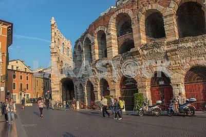 Amphitheater in Verona