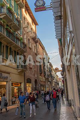 The street in Verona