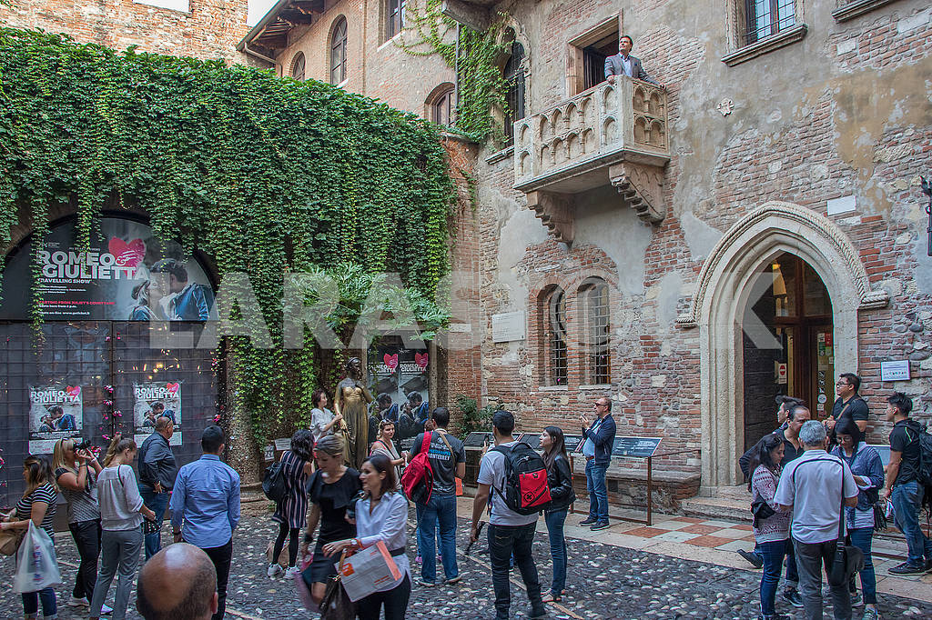Balcony at the house of Juliet — Image 66904