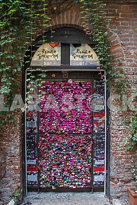 Door in Romeo and Juliet Cafe