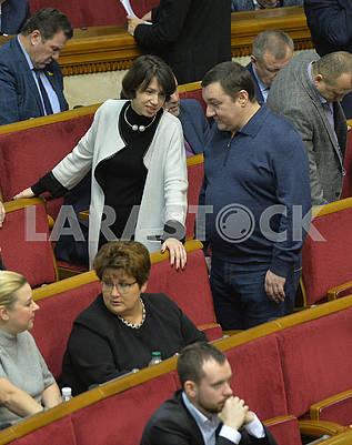 Татьяна Черновол и Дмитрий Тымчук
