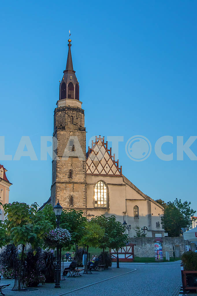Market Square and Church in Bolesławiec — Image 66966