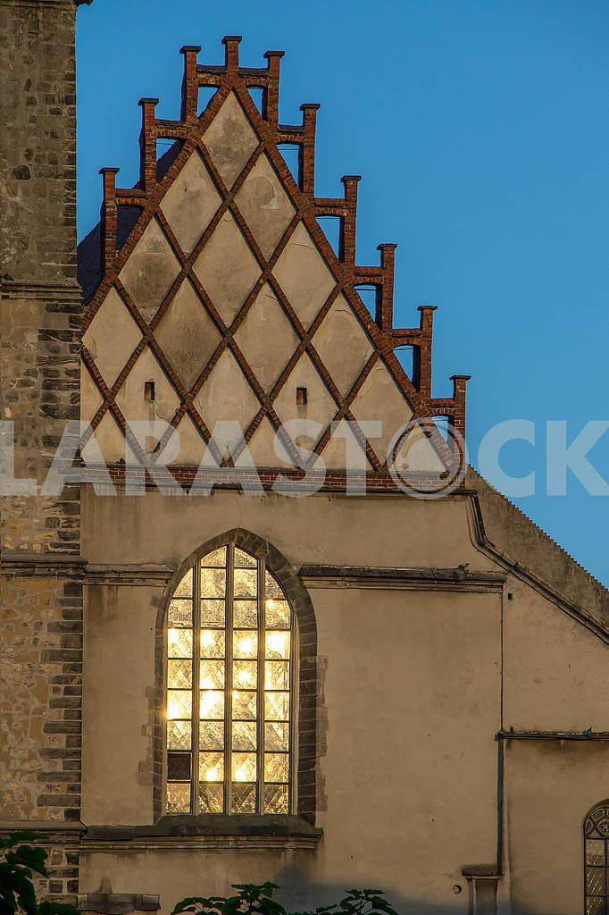 The window of the church in Bolesławiec — Image 66967