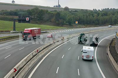 Cars on the Autobahn