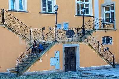 Stairs in Bolesławiec