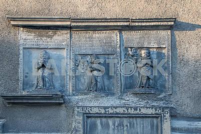 Bas-reliefs in Boleslawiec