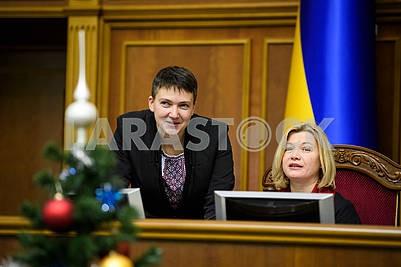 Nadezhda Savchenko, Irina Gerashchenko
