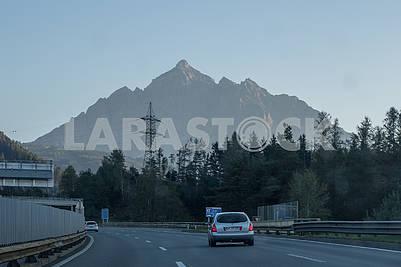 Autobahn in Austria