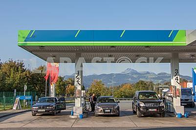 Gas station in Kiefersfelden