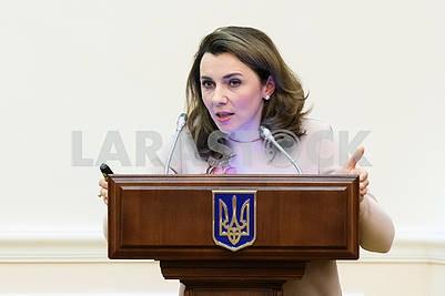 Natalia Mykolskaya, Deputy Minister of Economic Development