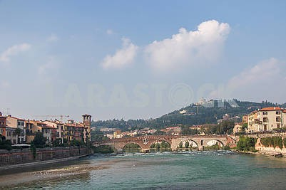 The Adige River