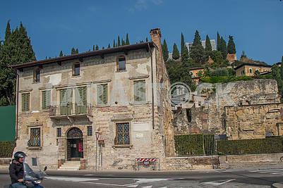 Old house in Verona