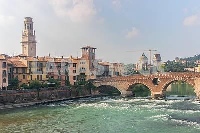 Ponte Pietra Bridge