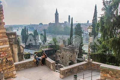 Roman Theater in Verona