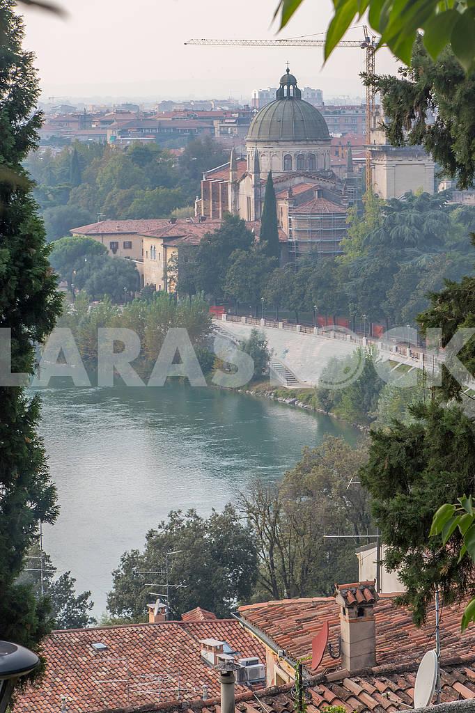 Собор Святого Георгияи река Адидже — Изображение 67166