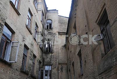 Yard of the house of Alexander Murashko