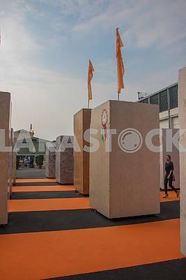 Выставка мрамора