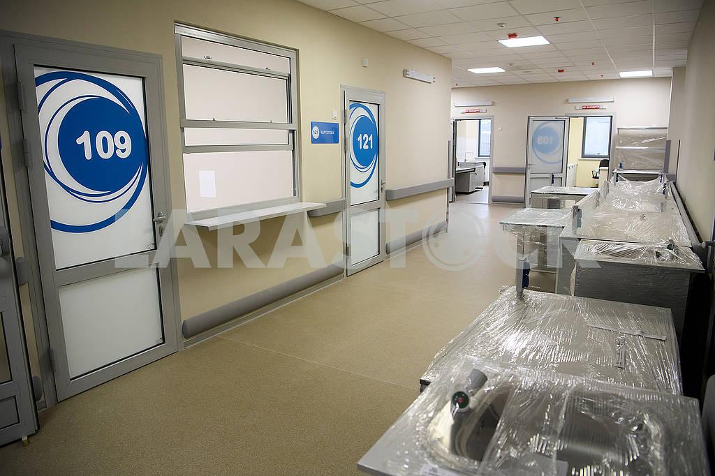 Okhmadit hospital corridor — Image 67207