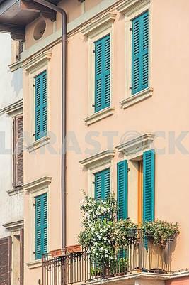 Стена дома в Вероне