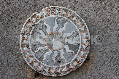 Wall medallion in Castle Castelvecchio