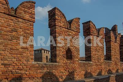 Забор замка Кастельвеккио